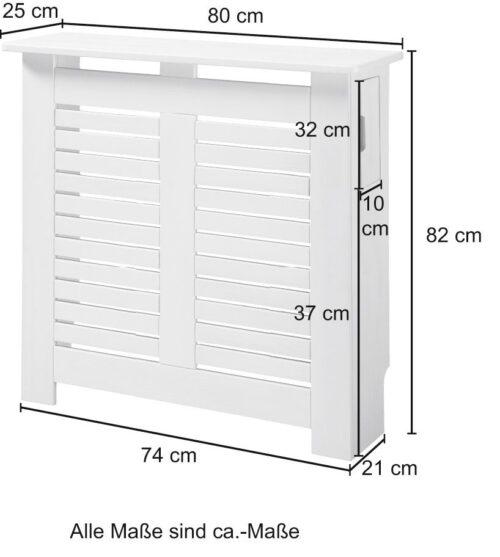 KONIFERA Holzabdeckung Heizkörperverkleidung für 60cm breite Heizkörper B47008437 UVP 74,99€ | 47008437 5