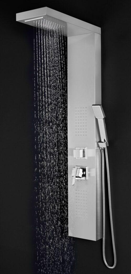 welltime Brausegarnitur Waterfall Höhe 125cm 4 Strahlart(en) Raindusche B49098551 UVP 144,99€ | 49098551 2