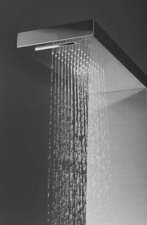 welltime Brausegarnitur Waterfall Höhe 125cm 4 Strahlart(en) Raindusche B49098551 UVP 144,99€ | 49098551 3