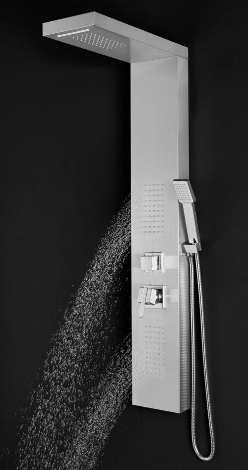 welltime Brausegarnitur Waterfall Höhe 125cm 4 Strahlart(en) Raindusche B49098551 UVP 144,99€ | 49098551 5