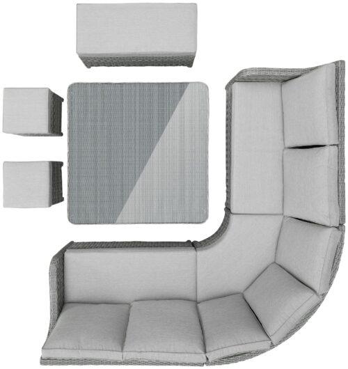 KONIFERA Loungeset Wisconsin (20-tlg) B49692325 UVP 1599,99€ | 49692325 12