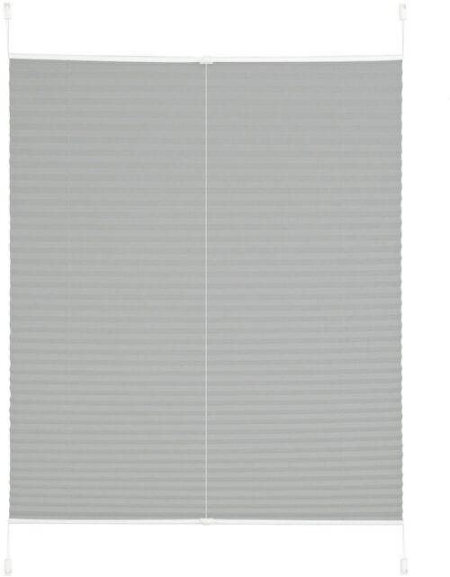 Plissee DAHRA my home Lichtschutz ohne Bohren verspannt im Fixmaß Crushed-Optik B50496549 UVP 15,99€ | 50496549 2