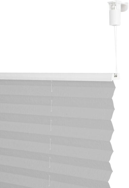 Plissee DAHRA my home Lichtschutz ohne Bohren verspannt im Fixmaß Crushed-Optik B50496549 UVP 15,99€ | 50496549 3