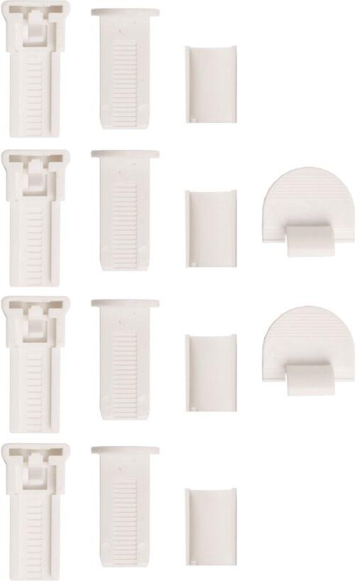 Plissee DAHRA my home Lichtschutz ohne Bohren verspannt im Fixmaß Crushed-Optik B50496549 UVP 15,99€ | 50496549 4