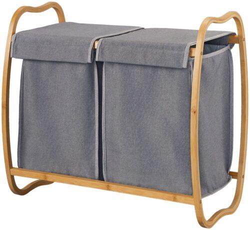 welltime Wäschekorb Costa Rica 70cm breit Bambus B50770555 ehemalige UVP 59,99€ | 50770555 1