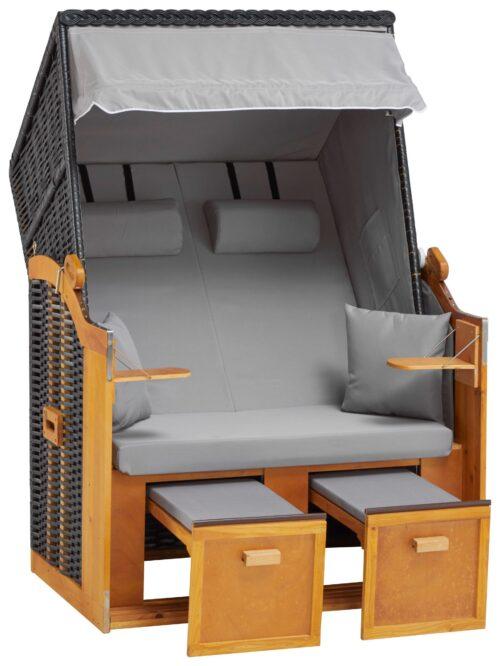 DEVRIES Strandkorb Basic 2-Sitzer BxTxH:118x80x160cm B51037613 UVP 339,99€ | 51037613 1