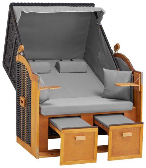 DEVRIES Strandkorb Basic 2-Sitzer BxTxH:118x80x160cm B51037613 UVP 339,99€ | 51037613 2