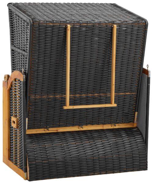 DEVRIES Strandkorb Basic 2-Sitzer BxTxH:118x80x160cm B51037613 UVP 339,99€ | 51037613 3