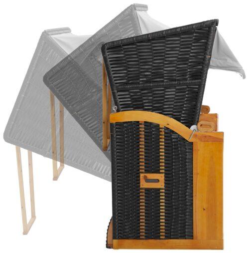 DEVRIES Strandkorb Basic 2-Sitzer BxTxH:118x80x160cm B51037613 UVP 339,99€ | 51037613 4
