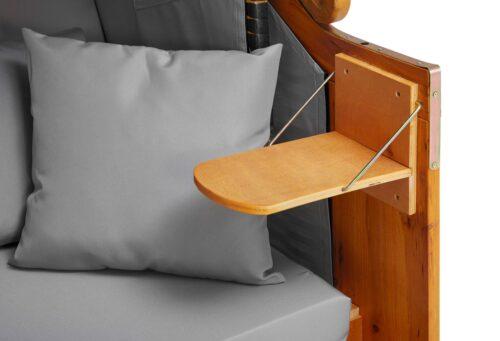 DEVRIES Strandkorb Basic 2-Sitzer BxTxH:118x80x160cm B51037613 UVP 339,99€ | 51037613 6