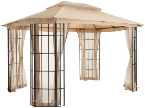 KONIFERA Pavillon Borkum mit 4 Seitenteilen BxT:300x360cm B52183443 UVP 299,99€ | 52183443 1