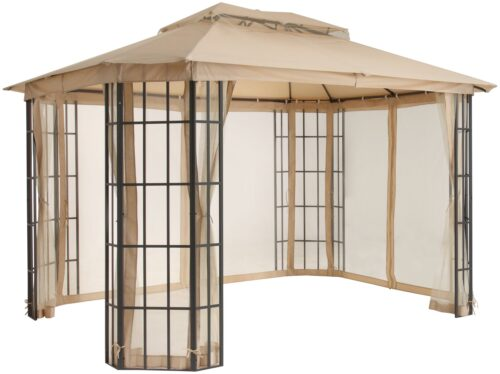 KONIFERA Pavillon Borkum mit 4 Seitenteilen BxT:300x360cm B52183443 UVP 299,99€ | 52183443 2