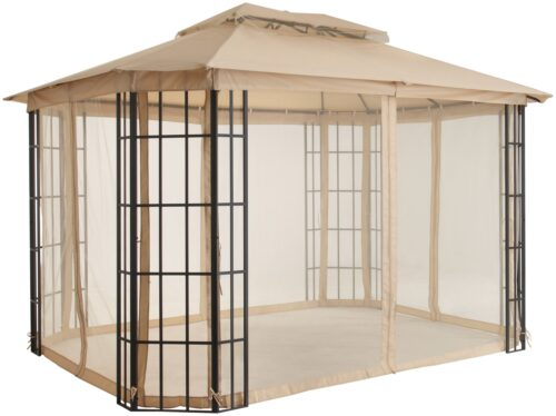 KONIFERA Pavillon Borkum mit 4 Seitenteilen BxT:300x360cm B52183443 UVP 299,99€ | 52183443 3