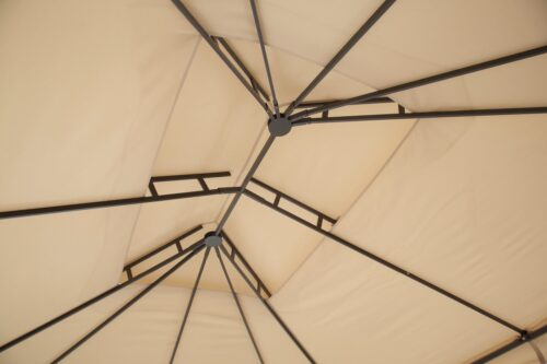 KONIFERA Pavillon Borkum mit 4 Seitenteilen BxT:300x360cm B52183443 UVP 299,99€ | 52183443 6