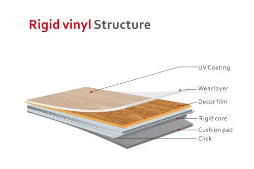 Vinylfliesen Porto inkl. Trittschall Stärke 4mm 3,35m² B53958720 UVP 81,61€ | 53958720 5