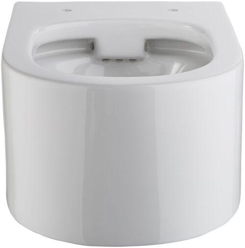 welltime Tiefspül-WC Trento Toilette spülrandlos inkl. WC-Sitz mit Softclose B54007642 ehemalige UVP 209,99€ | 54007642 3