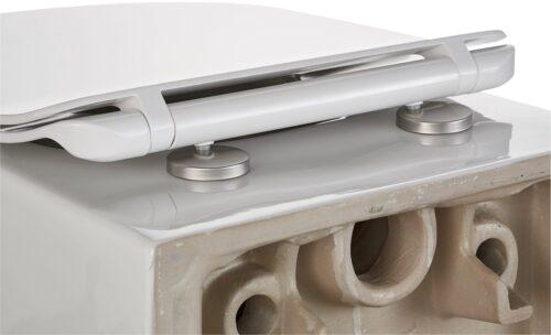 welltime Tiefspül-WC Trento Toilette spülrandlos inkl. WC-Sitz mit Softclose B54007642 ehemalige UVP 209,99€ | 54007642 9