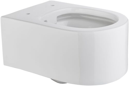welltime Tiefspül-WC Trento Toilette spülrandlos ohne WC Sitz B54007642OD | 54007642 oS1