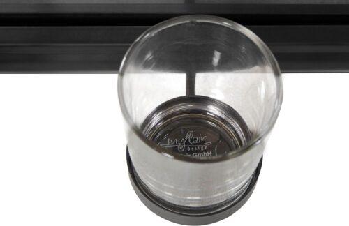 Home affaire Mirrow Kerzenhalter Kerzenleuchter Wanddeko mit Teelichthalter und Spiegel B5461794 UVP 50,99€   54617943 4