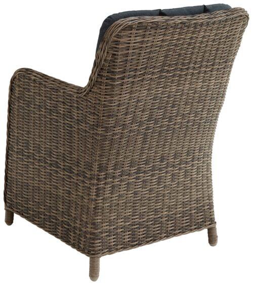 KONIFERA Gartenstühle Kenya 2 Sessel Polyrattan/Akazie ohne Polster B37809946OP | 54828942 1