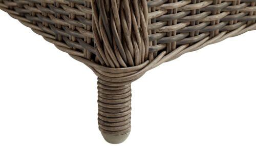 KONIFERA Gartenstühle Kenya 2 Sessel Polyrattan/Akazie ohne Polster B37809946OP | 54828942 3