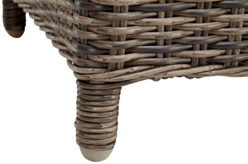 KONIFERA Gartenstühle Kenya 2 Sessel Polyrattan/Akazie ohne Polster B37809946OP | 54828942 4