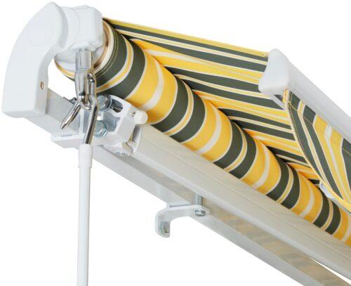 KONIFERA Gelenkarmmarkise 500x300cm Breite: 500cm Ausfall: 300cm B55628113 UVP 329,99€ | 55628113 3