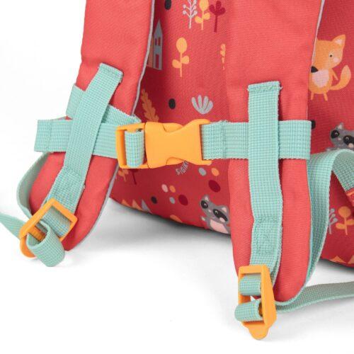 Sigikid Kinderrucksack Waschbär Colori B56402508 UVP 27,99€   56402508 3