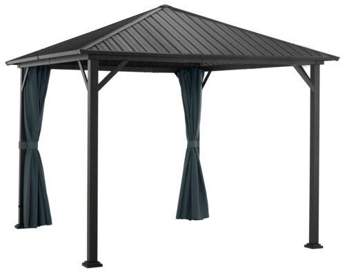 KONIFERA Pavillonseitenteile Samos mit 2 Seitenteilen für 300x300cm B57897734 UVP 69,99€ | 57897734 2