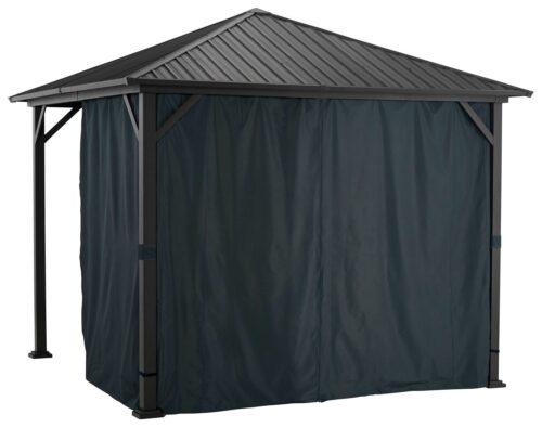KONIFERA Pavillonseitenteile Samos mit 2 Seitenteilen für 300x300cm B57897734 UVP 69,99€ | 57897734 3