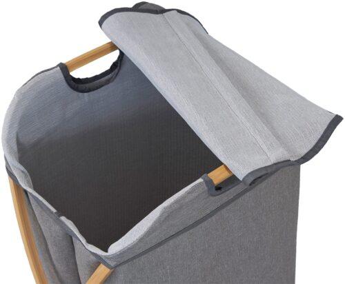 WELLTIME Wäschekorb Costa Rica Wäschebox 40cm breit Bambus B59048804 ehemalige UVP 59,99€ | 59048804 3