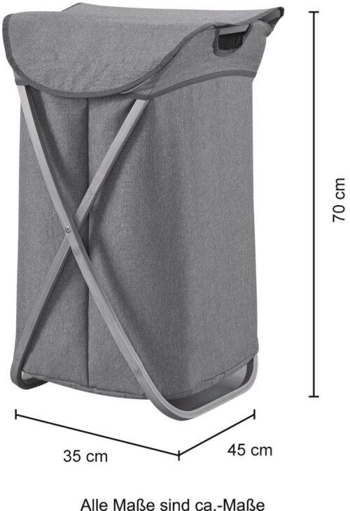 WELLTIME Wäschekorb Costa Rica Wäschebox 40cm breit Bambus B59048804 ehemalige UVP 59,99€ | 59048804 4