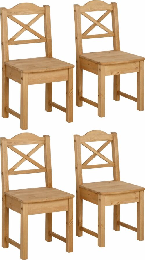 Home affaire 4-Fußstuhl Vanda (Set 4 Stück) B59150243 UVP 269,99€ | 59150243 1