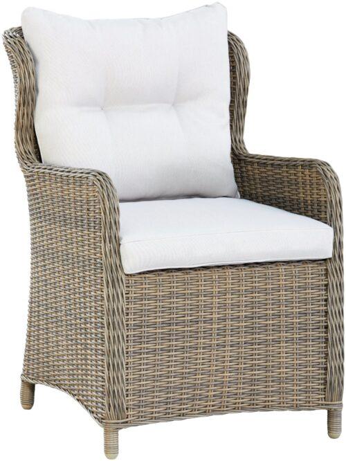 KONIFERA Gartenstuhl Sessel Texas 1 Stuhl Aluminium Polyrattan B60324137S | 60324137 stuhl 1