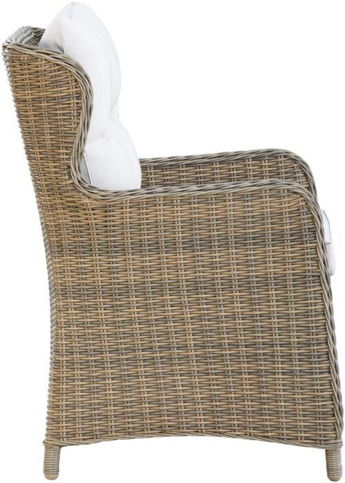 KONIFERA Gartenstuhl Sessel Texas 1 Stuhl Aluminium Polyrattan B60324137S | 60324137 stuhl 4
