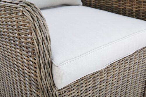 KONIFERA Gartenstuhl Sessel Texas 1 Stuhl Aluminium Polyrattan B60324137S | 60324137 stuhl 5