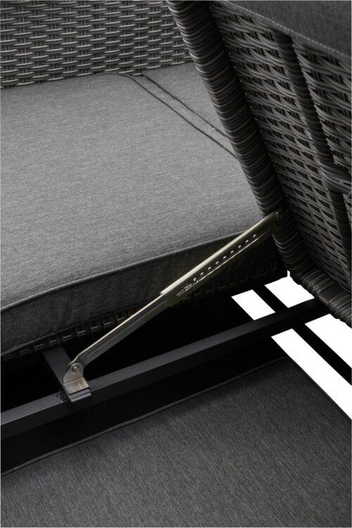 KONIFERA Loungebett Sylt 8 Teile Sofa Hängetisch mit klappbarem Dach B63412811 UVP 999,99€ | 63412811 10