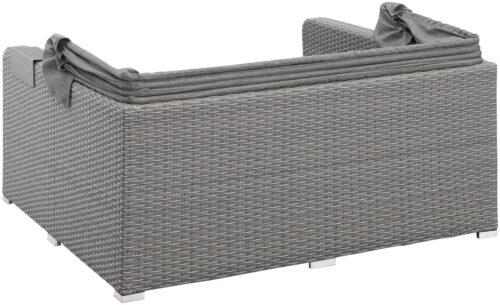 KONIFERA Loungebett Sylt 8 Teile Sofa Hängetisch mit klappbarem Dach B63412811 UVP 999,99€ | 63412811 7