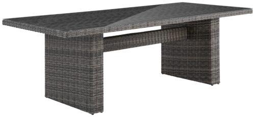 KONIFERA Gartenmöbel Florenz Tisch 230x100cm Polyrattan B63538156T | 63538156 T