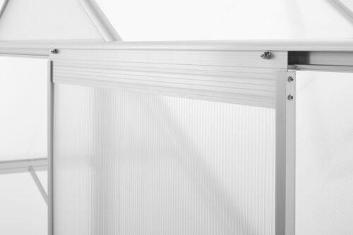 KONIFERA Gewächshaus Florenz BxTxH:190x190x195cm Wandstärke 4mm B64916760 ehemalige UVP 249,99€ | 64916760 6