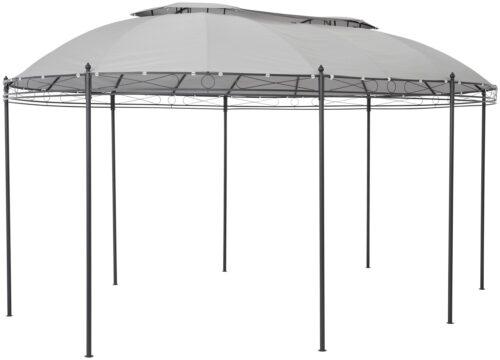 KONIFERA Ersatzdach für Pavillon Oval BxL:350x500cm grau B65282451 UVP 89,99€ | 65282451 2