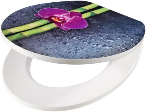 WC-Sitz Orchidee lila Bambus MDF Toilettensitz Absenkautomatik B66207150 UVP 59,99€ | 66207150 1