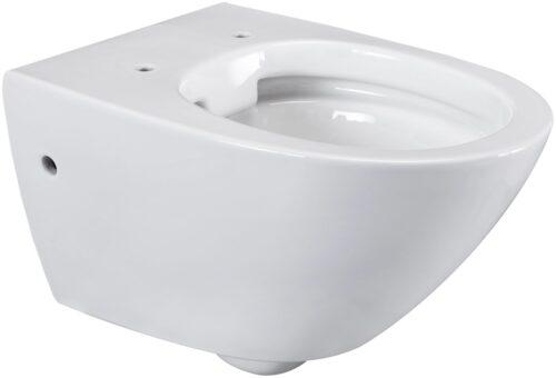 welltime Flachspül-WC Spring Toilette spülrandlos inkl. WC-Sitz mit Softclose B67814504 ehemalige UVP 189,99€ | 67814504 2