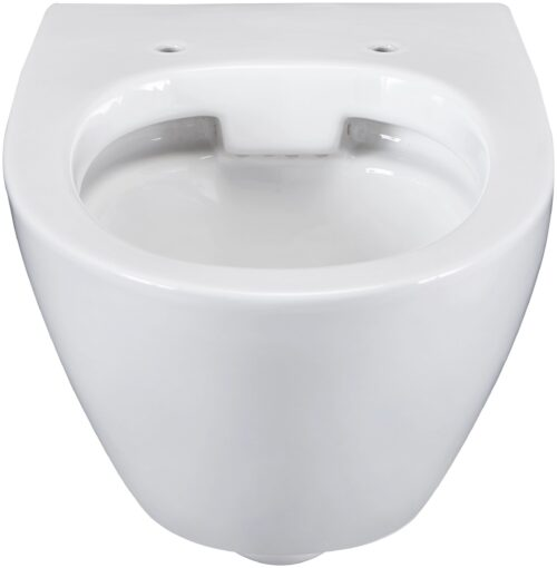 welltime Flachspül-WC Spring Toilette spülrandlos inkl. WC-Sitz mit Softclose B67814504 ehemalige UVP 189,99€ | 67814504 3