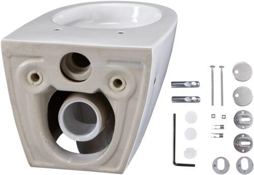 welltime Flachspül-WC Spring Toilette spülrandlos inkl. WC-Sitz mit Softclose B67814504 ehemalige UVP 189,99€ | 67814504 4