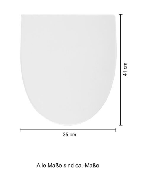 welltime Flachspül-WC Spring Toilette spülrandlos inkl. WC-Sitz mit Softclose B67814504 ehemalige UVP 189,99€ | 67814504 9