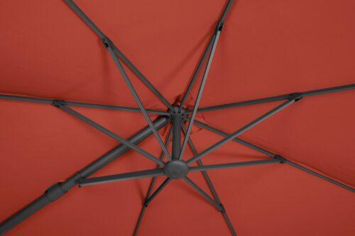 GARTEN GUT Sonnenschirm Rot Big Roma B69159428 UVP 349,99€ | 69159428 5