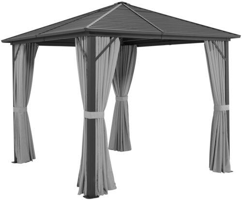 KONIFERA Seitenteile für Pavillon Barbados für 3x3m 4 Stk. B69230920 UVP 79,99€ | 69230920 2