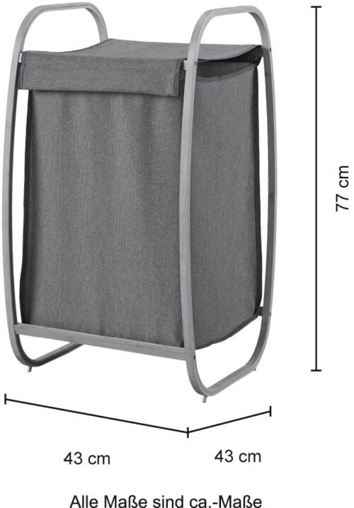 welltime Wäschekorb Costa Rica 43cm breit Bambus B69496945 UVP 49,99€ | 69496945 4