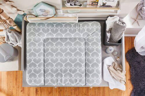 Rotho Babydesign Wickelauflage Seashell Shape Made in Europe B70166914 UVP 30,85€ | 70166914 1